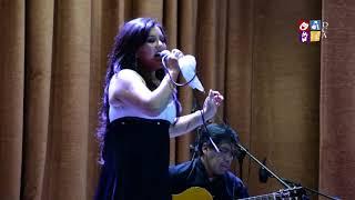 Rocio Moreira en el 3er Encuentro de la Cueca UMSA - 2017
