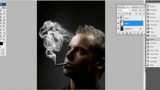 Woman Smoke Tutorial - Photoshop CS3