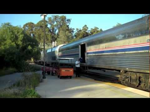 Riding Coast Starlight #14 on 3/3/12 - Part 1, Los Angeles to San Jose