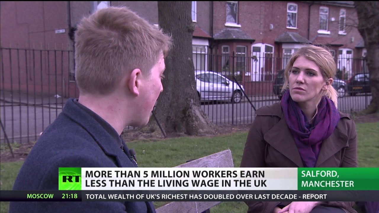 Over 5 million UK workers earn less than the living wage