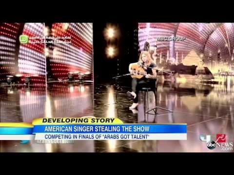 American Woman Shines on 'Arabs Got Talent'