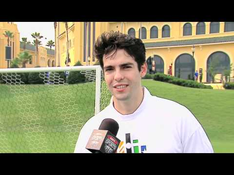 Kaka of Real-Madrid at ESPN WWOS