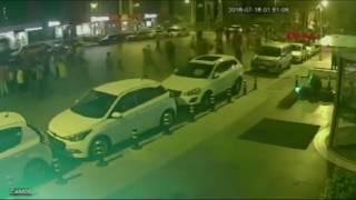 V�DEO MOSTRA HOMEM SENDO ATROPELADO POR DOIS TANQUES DURANTE TENTATIVA DE GOLPE NA TURQUIA