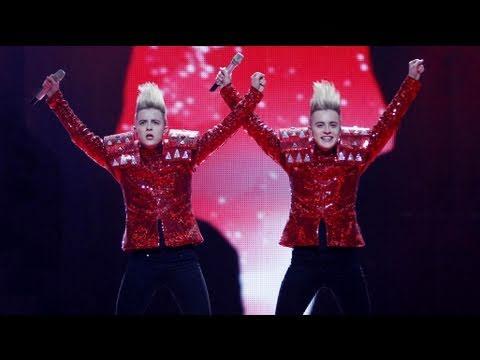 Eurovision 2011 Final Ireland: Jedward - Lipstick