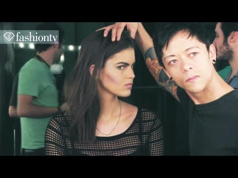 Sao Paulo Fashion Week Spring/Summer 2013: Backstage at Lino Villaventura | FashionTV