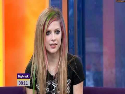 Avril Lavigne Daybreak interview, 2011