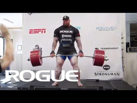 Хүчний өргөлт World record - 501KG Deadlift - Hafthor Bjornsson