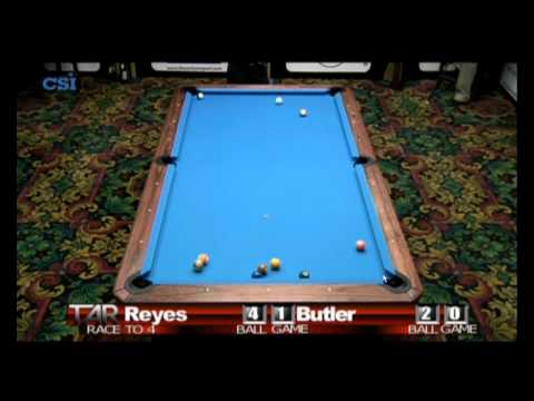 2011 US Open Onepocket - Efren Reyes-Brian Butler (Part 2)
