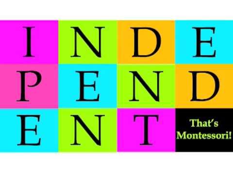 That's Montessori!