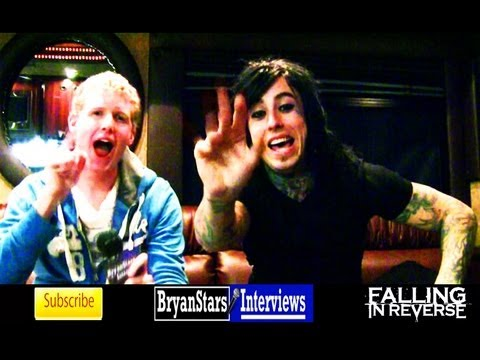 Falling In Reverse Interview #2 Ronnie Radke 2012 (Behind The Scenes)