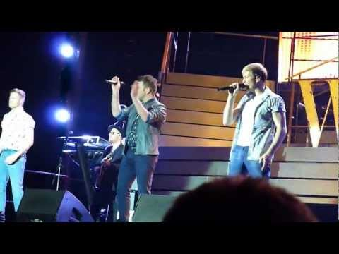 Medley - Westlife Farewell Tour [Newcastle 14/5/2012]