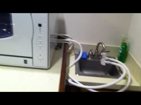 Countertop Dishwasher Hookup : ... dishwasher on Pinterest Portable dishwasher, Countertop dishwasher
