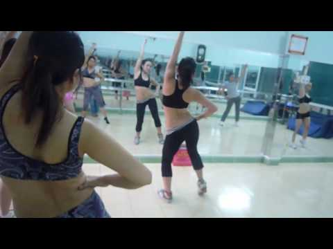 Aerobics  Class HCMC, Vietnam 3/3
