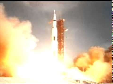 Apollo 11 Rocket Launch (second view) NASA