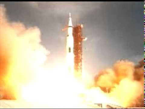 Apollo 11 Rocket Launch (second view) NASA