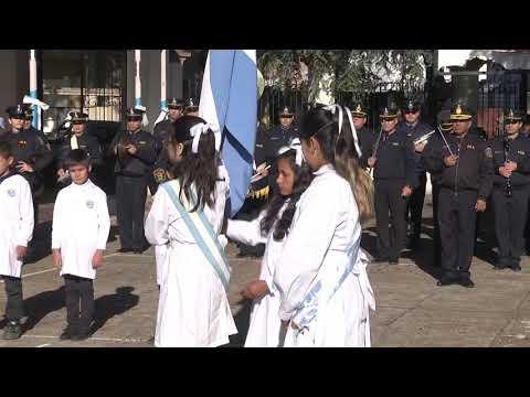 La escuela Moreno festejó el Día de la Bandera