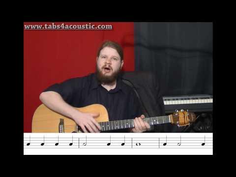 Cours de guitare : Le rythme 1 : Noires, blanches, rondes - Partie 3