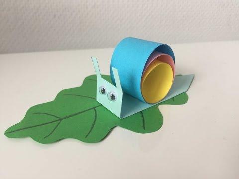 Поделки из пестрой бумаги
