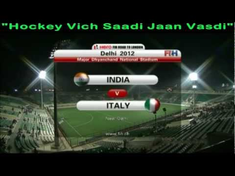Highlights Of FIH Mens Olympic Qualifier - 19 Feb 2012 - India 8 - 1 Italy