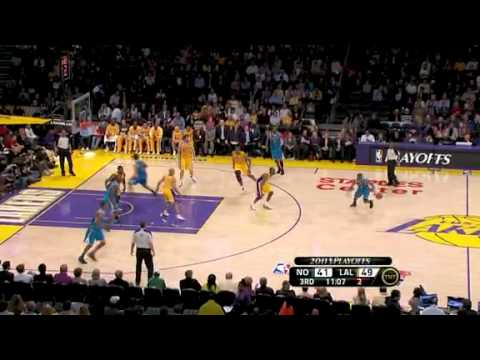 NBA Playoffs 2011: New Orleans Hornets Vs LA Lakers Game 2 Highlights