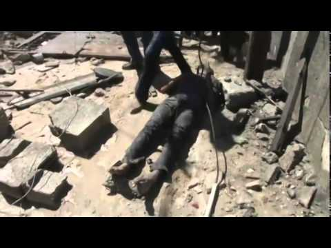 (Israeli) Airstrike Kills 10 in Gaza Strip   7/8/14