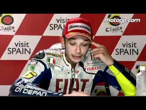 Valentino Rossi Interview After The Motegi Gp