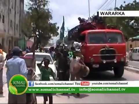 WARKA SOMALI CHANNEL Aragtida Shacabka Muqdisho ee Madaxweynaha Cusub 11 09 2012