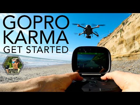 GoPro KARMA Drone Tutorial: How To Get Started