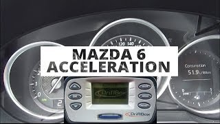 Mazda 6 Kombi 2.0 165 KM - acceleration 0-100 km/h