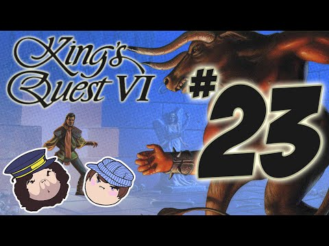 King's Quest VI: The Royal Wedding - PART 23 - Steam Train