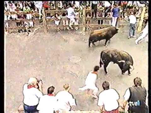 Encierro San Fermin Pamplona del día 2 de julio d 1994 encierro 2 1994 RE