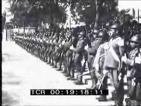 Vittorio Emanuele III a Campobasso nel 1931 per l'inaugurazione del Monumento ai Caduti