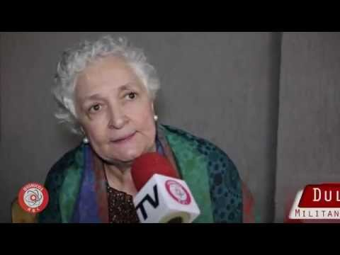 Dulce Muniz, militante presa com Olavo Hanssen