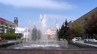 В Житомире запустили фонтаны