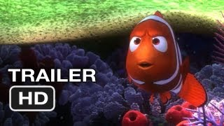 Finding Nemo 3D Official Trailer (2012) Pixar Movie HD