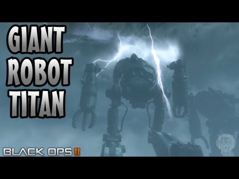 ORIGINS Zombies: Can You Destroy The Giant Metal Robot Titans? (COD Black Ops 2 Zombies Guide) - unknownplayer03