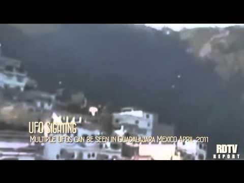 UFO SIGHTING: Multiple UFOs in Guadalajara Mexico
