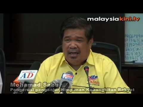 Mat Sabu: Himpunan memang untuk 'guling' k'jaan