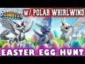 Polar Whirlwind Egg Hunt Surprise !Happy Easter! (Skylanders Giants)