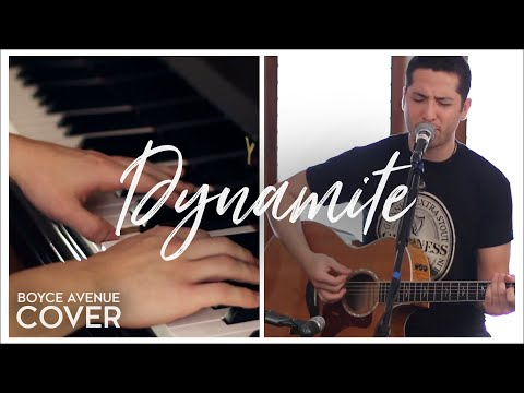 Dynamite - Taio Cruz (Boyce Avenue acoustic/piano cover) on iTunes