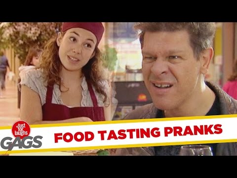 Food Tasting Pranks – Best of Just For Laughs Gags