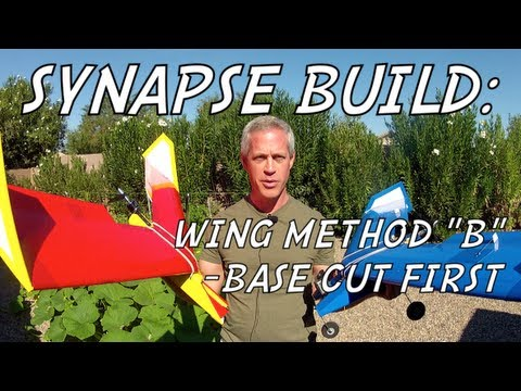 SYNAPSE WING BUILD - Method B: Base Cut Then Build
