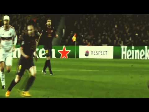Barcelona 4 0 Milan UEFA champions league 2012-13 Audio Onda Cero