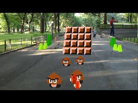 Super Mario Bros in Real Life (Augmented Reality) by Abhishek Singh - UCKy1dAqELo0zrOtPkf0eTMw