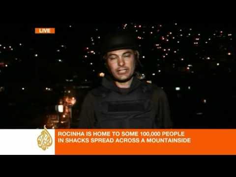 Brazil police invade biggest slum