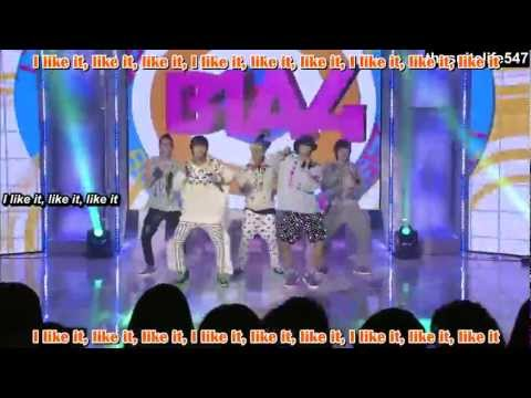 B1A4 - Beautiful Target [MTV The Show] (11.10.28) {Hangul, Romanization, Eng Sub, Fanchants}