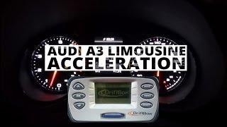 Audi A3 Limousine 1.4 TFSI 140 KM - acceleration 0-100 km/h