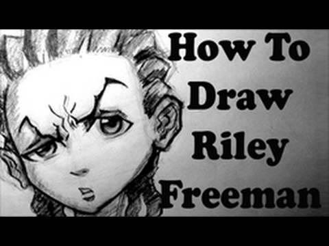 How To Draw Riley Freeman