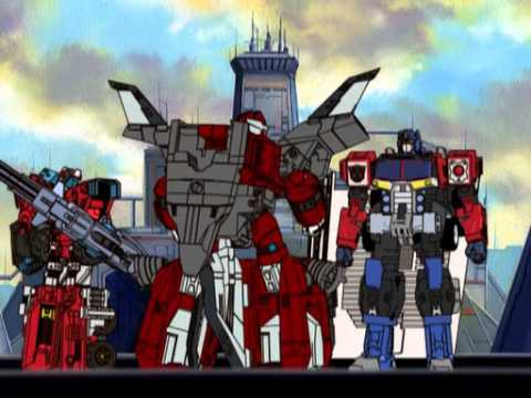 Transformers Energon - Cybertron City - 01