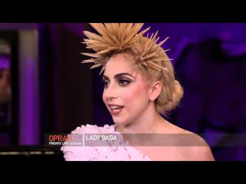 Lady Gaga - Backstage + Interview PART 2 - 01.15.10 (Oprah Winfrey Show)